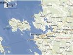 Mapa oblasti hnízda orlů mořských