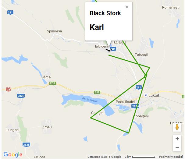 Karl migrace den devátý