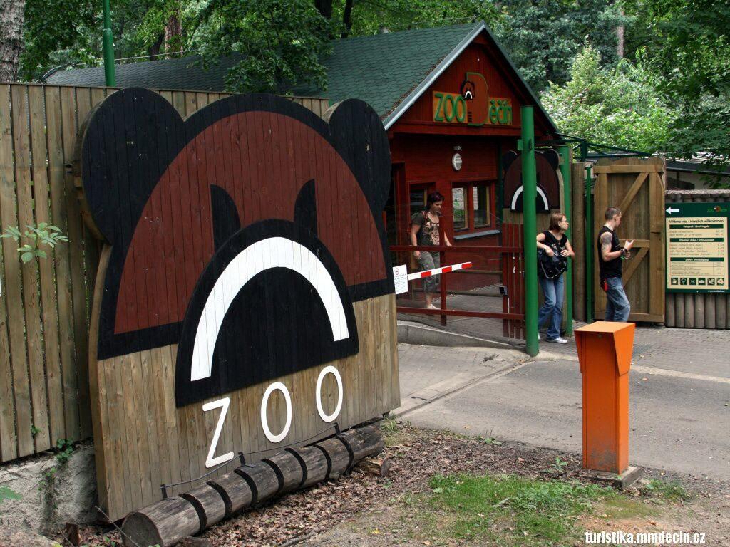 zoológico Děčín